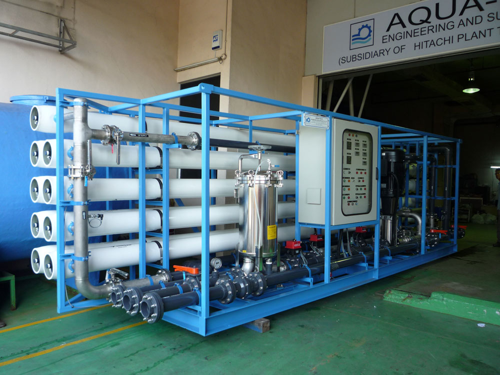 Brackish Water Reverse Osmosis (BWRO) Systems : Hitachi Aqua-Tech