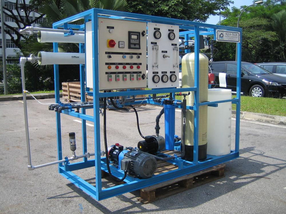 Marine Watermakers Hitachi Aqua Tech Engineering Pte Ltd