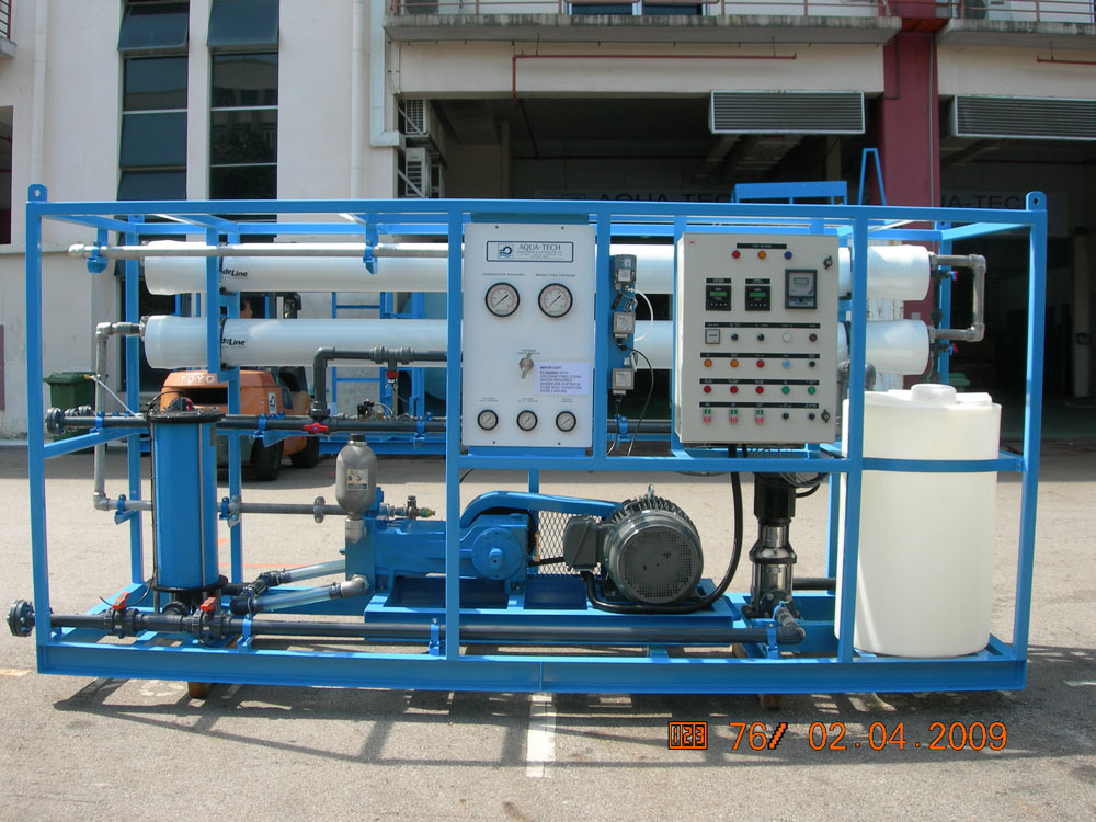 Marine Watermakers Hitachi Aqua Tech Engineering Pte Ltd