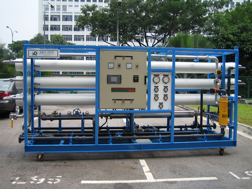 Sea Water RO Systems : Hitachi Aqua-Tech Engineering Pte Ltd